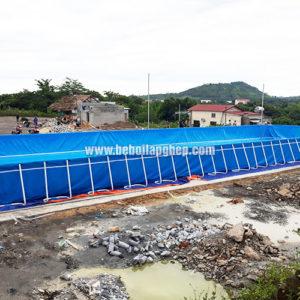 bể bơi lắp ghép di động
