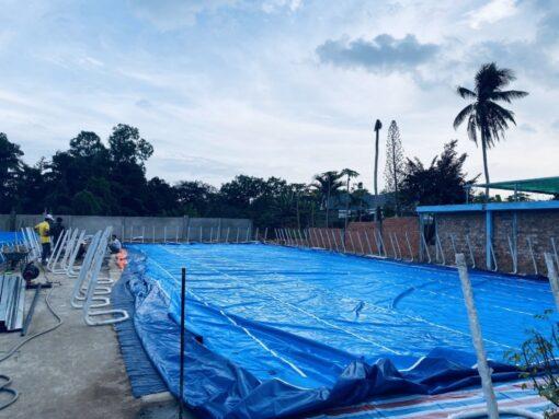 Kinh Doanh Hồ Bơi Lắp Ghép 11,1m x 24,6m 2