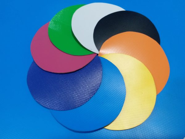 màu sắc bạt PVC
