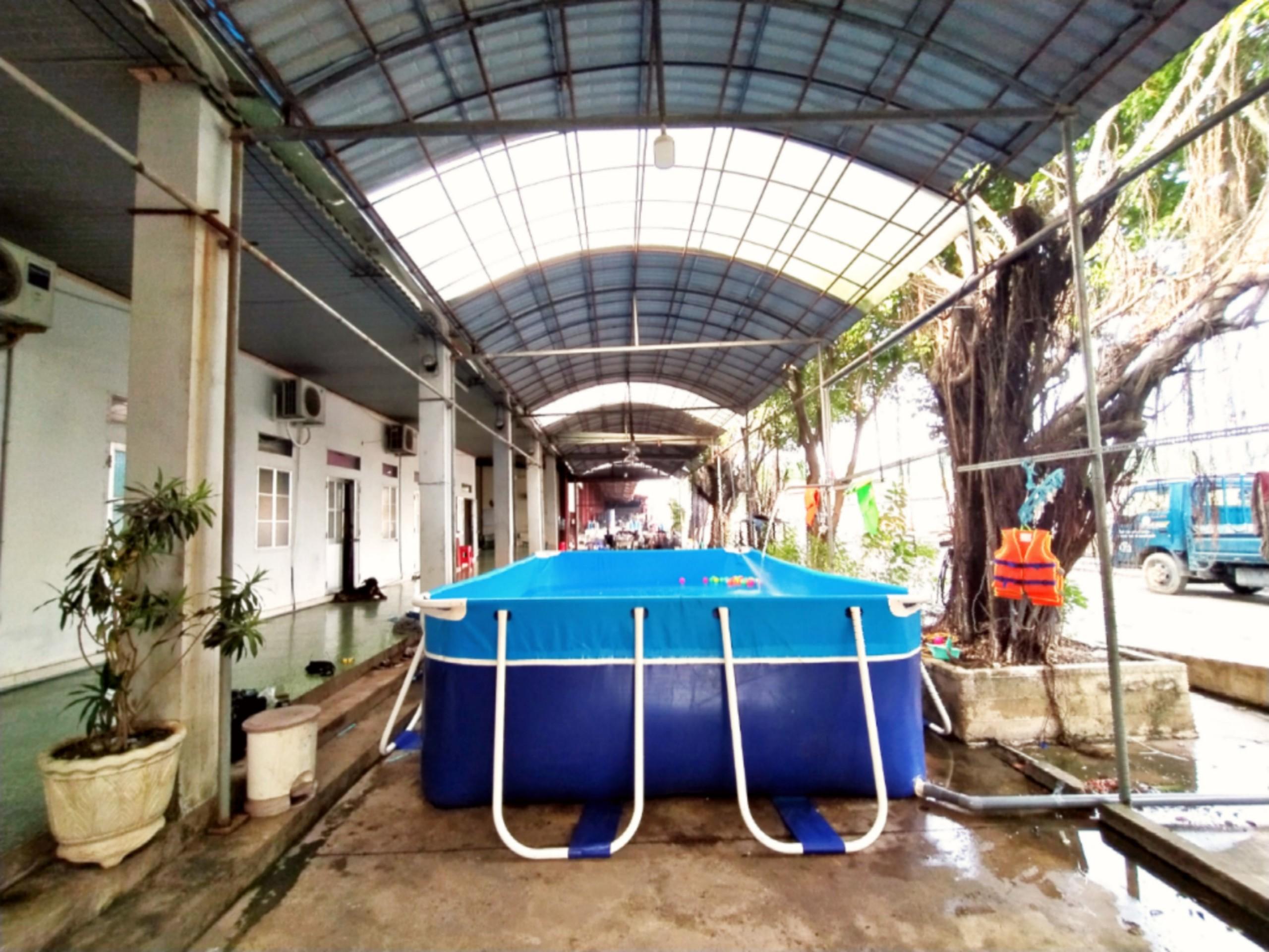bể bơi cho gia đình