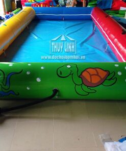 bê rbơi bơm hơi cho trẻ em