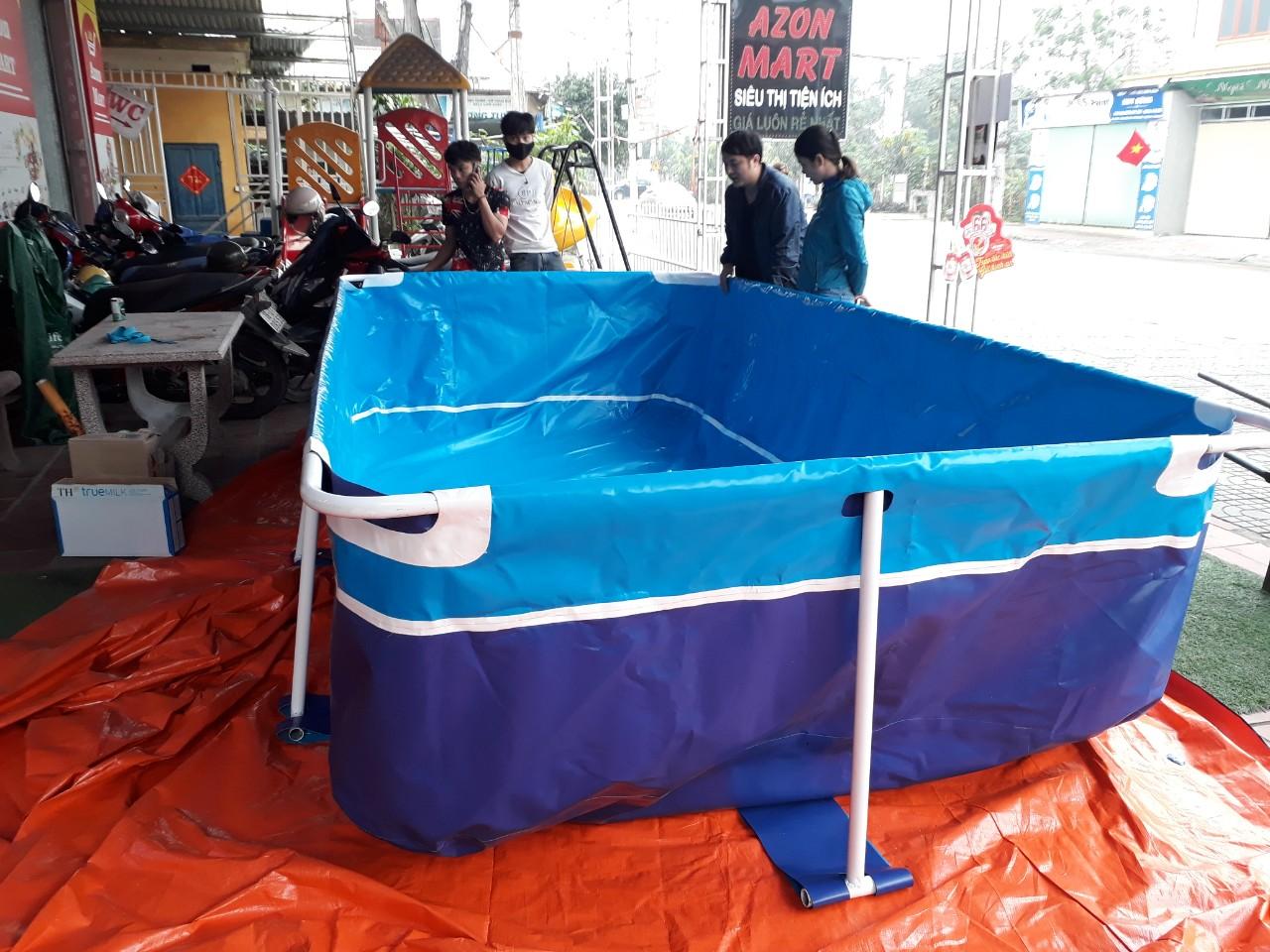 bể bơi gia đình lắp ghép giá rẻ