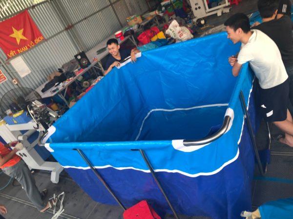 Bể Bơi lắp ghép mini 2,0m x 2,0m 1
