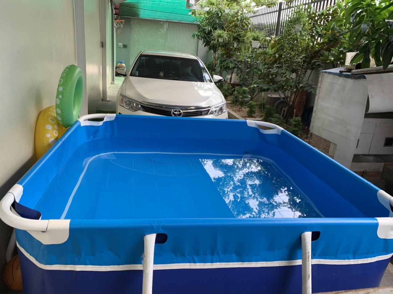 hồ bơi lắp ghép tại nhà