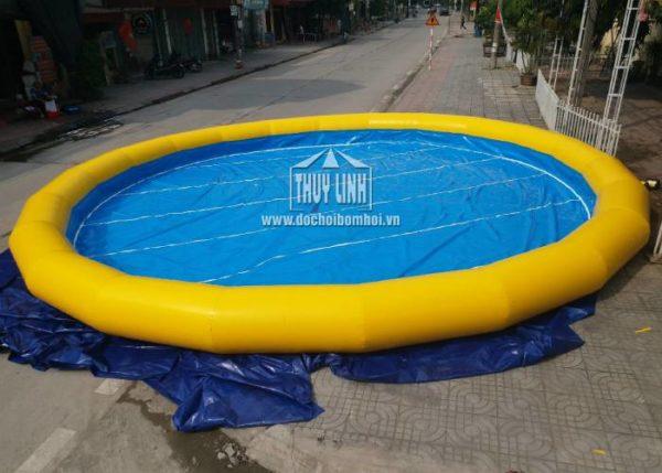 bể bơi tròn bơm hơi