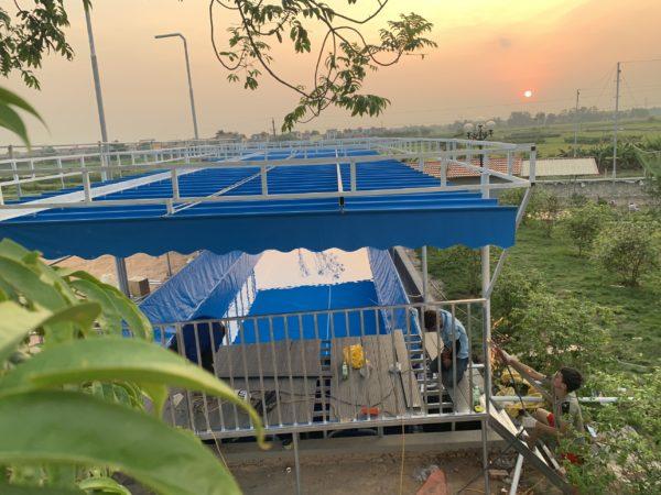 Hồ Bơi Khung Kim Loại Giá Rẻ 5,1m x 18,6m 5