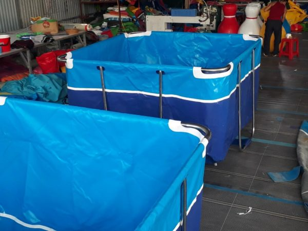 Bể Bơi lắp ghép mini 2,0m x 2,0m 3