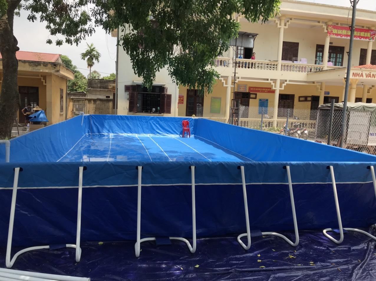bể bơi trường học lắp ghép Vietpools