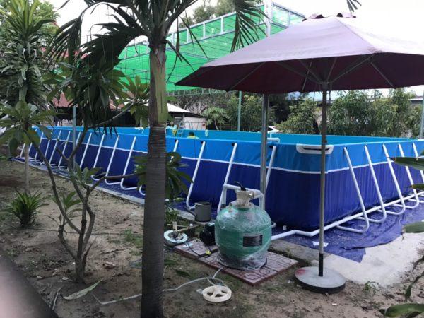 hệ thống lọc nước bể bơi