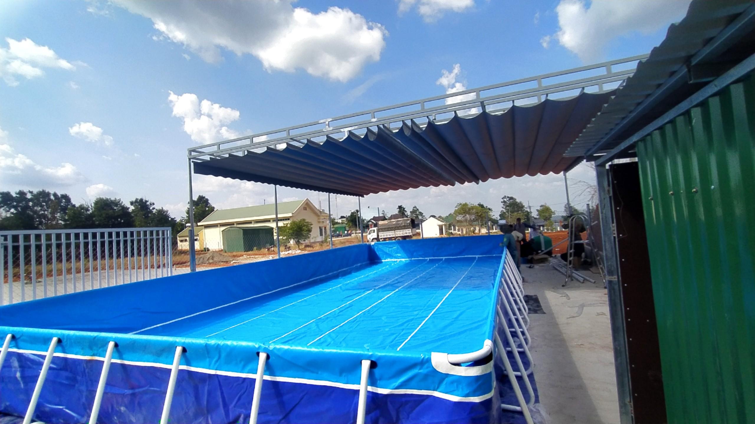 Bể bơi lắp ghép giá rẻ