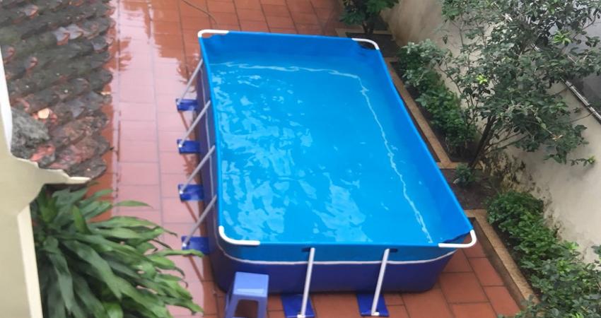 Báo Giá Bể Bơi Lắp Ghép Gia Đình Năm 2021 4