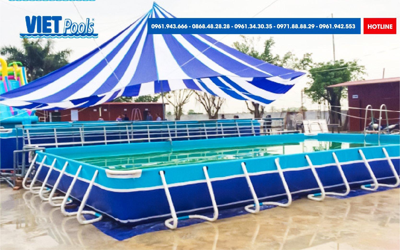 Những yếu tố tạo nên chất lượng Bể bơi lắp ghép Thuỳ Linh 2