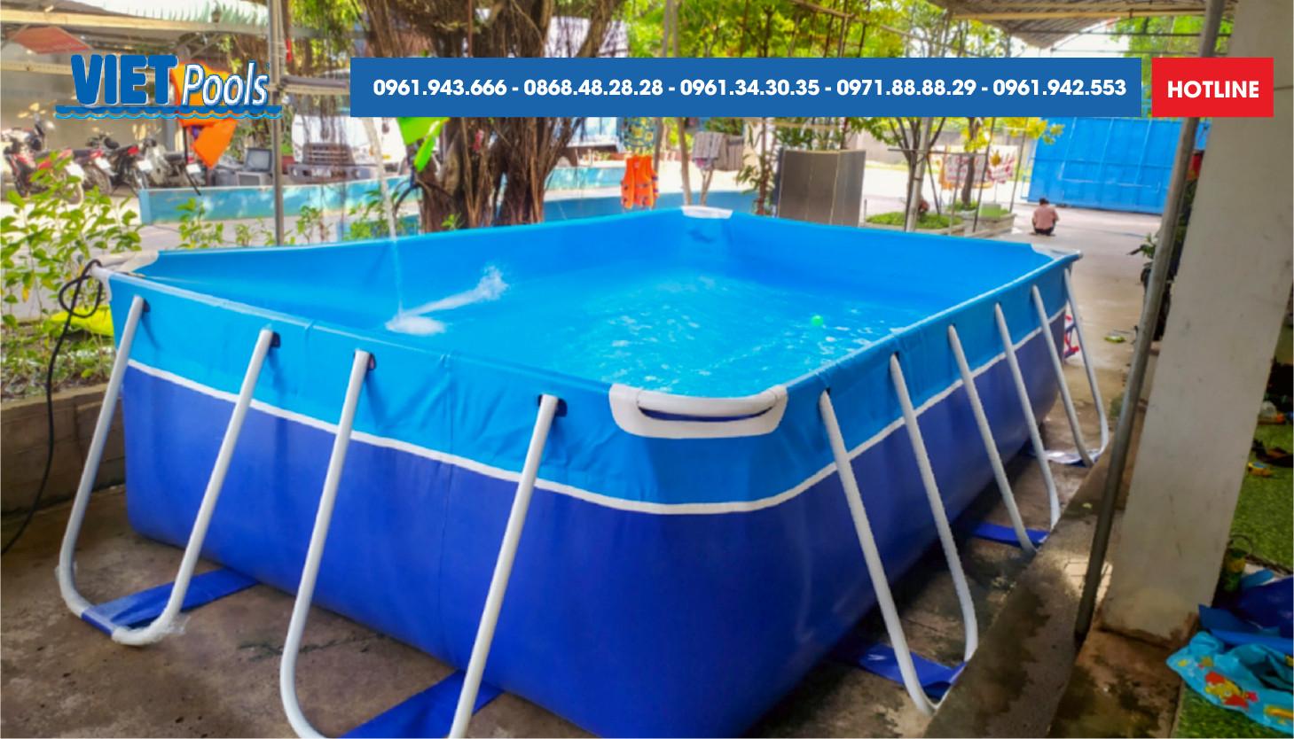 Những yếu tố tạo nên chất lượng Bể bơi lắp ghép Thuỳ Linh 3